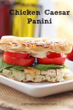 Chicken Caesar Panini