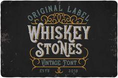 Whiskey Stone Typeface - Display
