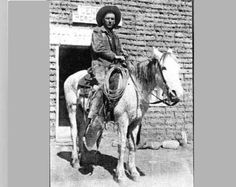 Lou Ross, Arizona cowboy pioneer.  He was at Tucson's first rodeo, and photographed by the famous artist, Curtis.  His portrait hangs in the Cowboy Hall of Fame.