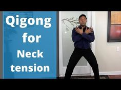 Qigong for Neck Pain, Tension, and Arthritis Daily Routine - Health and wellness: What comes naturally Qi Gong, Tai Chi Moves, Tai Chi Exercise, Tai Chi Qigong, Flexibility Workout, Pilates Workout, Boxing Workout, Neck Pain, Yoga Routine