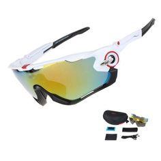 e31e4f70fe COMAXSUN Professional Polarized Cycling Glasses Bike Goggles Driving