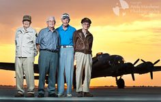 One Night, One Plane, and Four Men Who Flew It: Meet some wonderful WWII Veterans and read their stories at the Andy Marchese Photography blog.