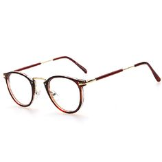 8f8f82d58cd3 AOFLY New Style Men and women Fashion Vintage Eyeglasses Frame Optics Clear  lens Reading Glasses Retro armacao oculos de grau-in Eyewear Frames from  Men s ...