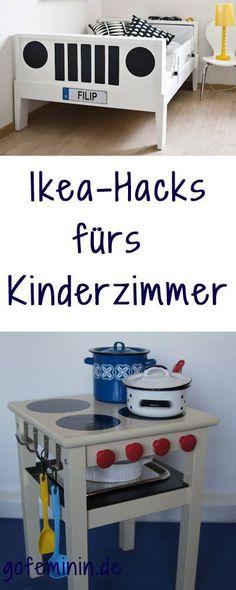 So bringt man Kids zum Strahlen: 5 genial-einfache Ikea-Hacks fürs Kinderzimmer