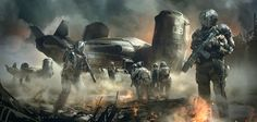 ArtStation - War Zone, Juan Pablo Roldan