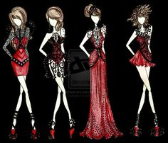 #Fashion#Dress#Red