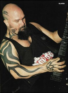 Pin Up Photos, Band Photos, Reign In Blood, Kerry King, Enlarge Photos, Hot Guys, Hot Men, Thrash Metal, Angel Of Death