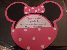 Minnie Mouse invites #Disney