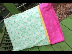 Cómo coser una funda de almohada | Muy sencillo