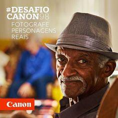 Todos conhecemos pessoas interessantes que valem um bom retrato para contar sua história. Participe do #DesafioCanon98 fotografando personagens reais. Boa sorte! É só usar a hashtag! ;) via Canon on Instagram - #photographer #photography #photo #instapic #instagram #photofreak #photolover #nikon #canon #leica #hasselblad #polaroid #shutterbug #camera #dslr #visualarts #inspiration #artistic #creative #creativity