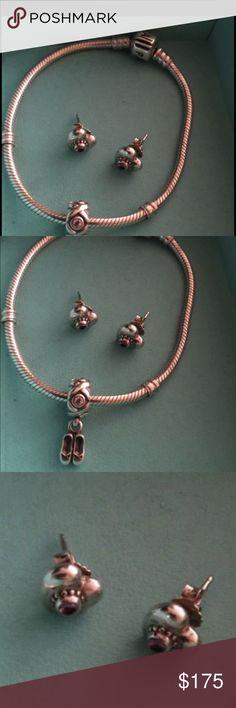 132f9d9d5 ... discount pandora set authentic pandora bracelet and earring set pandora  jewelry bracelets 229a4 a9a41