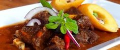 Czech Recipes, Ethnic Recipes, No Salt Recipes, Ramen, Food And Drink, Beef, Czech Food, Meat, Steak