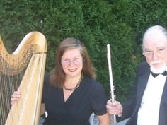 Hudson Heights Duo - Harp and Flute  Listen to some ceremony music possibilities here on Reverbnation