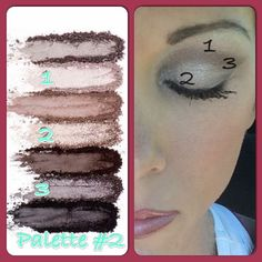 Aaaahhhhh, I love this simple every day look created with Youniques addiction palette   #2ndglancebeauty