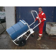 Model LEVDT #Levadrum #Transporter Designed for easy handling, convenient #storage and access for decanting 210 liter #steel #drums Foldable #push/pull #handle for easy storage Twin rollers built in to fully rotate the drum Can be used with steel and plastic drums Large wheels to make it easier to maneuver See more at: http://shop.hsil.co.uk/p-4701-levadrum-transporter.aspx#sthash.tUSDvutN.dpuf