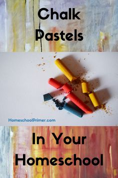Using Chalk Pastels In Your Homeschool - Homeschool Primer Best Picture For Olympics Activities pres Artists For Kids, Art For Kids, Crafts For Kids, How To Use Pastels, Middle Schoolers, Homeschool Curriculum, Homeschooling Resources, Chalk Pastels, Art Studies
