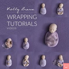 New Ideas For New Born Baby Photography : This 3.5-hour tutorial shows 9 wrapping styles as well as how I pose position