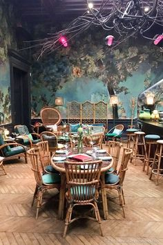 Afternoon Tea in the Glade at Sketch, London