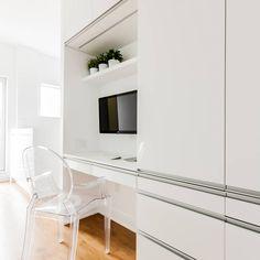 Dorion Project Reveal - Office desk - Valérie De L'Étoile Interior Design Chair, Furniture, Design, Home Decor, Decoration Home, Room Decor, Home Furnishings, Stool