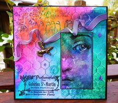 I love the color combination on this card. Glitterarti.............Card Creations by Barbara Daines