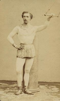 Jules Leotard, inventor of the the flying trapeze act, and namesake of the leotard.
