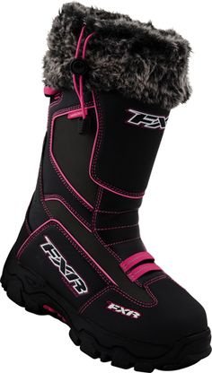Search results for 'snow womens riding gear boots fxr 2014 excursion womens boots black fuchsia' Winter Gear, Winter Fun, Winter Sports, Snowmobile Boots, Hunting Outfitters, Motocross Gear, Fifth Wheel Trailers, Snow Gear, Snow Fun