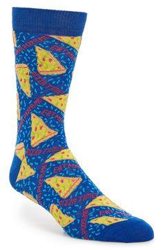 Topman Pizza Pattern Socks