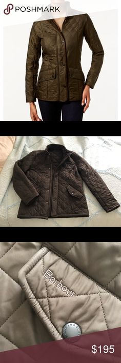 Barbour Cavalry Polarquilt Quilted Utility Jacket Fleece lined. Only worn twice. EXCELLENT CONDITION Barbour Jackets & Coats Utility Jackets