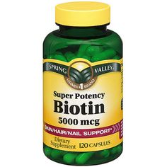 Biotin makes hair and nails grow fast and thick. It's good for your skin and gives it a pseudo-tan glow all year long.