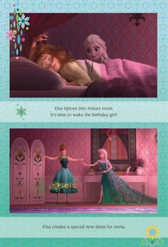 Am I the only one that wishes Elsa would have gotten a new dress at the end of Frozen like Anna did? I mean, I love her ice dress, but it really doesn't fit with what the people of Arendelle and Anna wear. I would like to see her in a dress styled more like Anna's or her coronation dress.