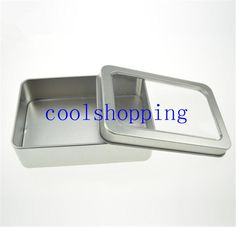 10.7*7*3cm Open Window Metal Storage Cases, Tin Boxes Steel Display Packaging Can Pm Small Cardboard Boxes Wholesale Boxes From Coolshopping, $0.89| Dhgate.Com