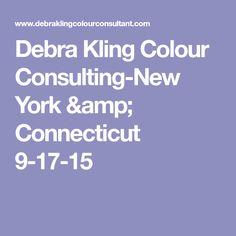 Debra Kling Colour Consulting-New York & Connecticut 9-17-15