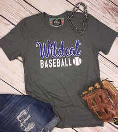 37b9920a Baseball T-Shirt Baseball Team Shirt Baseball Mom Personalized Baseball Tee  Custom Baseball Shirt Glitter Baseball Tee Baseball Fan Shirt