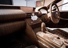 la voiture origami une lexus en carton fonctionnelle video  2Tout2Rien