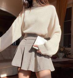 Kpop Fashion Outfits, Korean Outfits, Mode Outfits, Girl Outfits, Korean Girl Fashion, Cute Fashion, Look Fashion, Cute Casual Outfits, Pretty Outfits