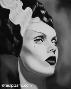 Items similar to Maila Nurmi, Vampira as the bride of Frankenstein, signed print on Etsy Beetlejuice, Halloween Horror, Halloween Makeup, Halloween Art, Scary Movies, Horror Movies, Arte Tribal, Maila, Frankenstein's Monster