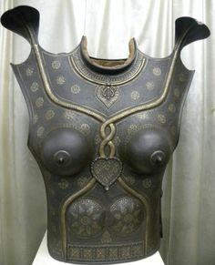 1900's C Indo Persian Indian Lady Warrior Chest Plates Helmet Shield Ext 12pcs | eBay