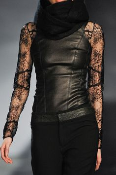 Leather impact + textured details