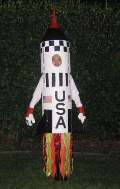 Saturn V Rocket Halloween Costume