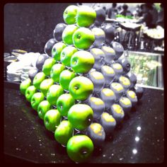 Green Apple .. Green Icecream .. Green Tea  &  #GreenHeart #fruit #bangkok #qbro #thaistagram