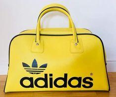 Stunning vintage Adidas Peter Black bag, nice one Wayne Taylor 😊👌 Suede Tote Bag, Nylon Tote Bags, Chain Crossbody Bag, Tote Purse, Leather Crossbody Bag, Adidas Retro, Vintage Adidas, Duffle Bag Patterns, Vintage Tracksuit