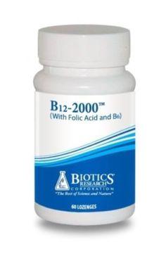 Biotics-Research-B12-2000-Lozenges-60L-1130-Exp-9-18-SD