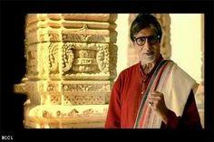 Bollywood megastar Amitabh Bachchan in 'Khushbu Gujarat Ki' ad.