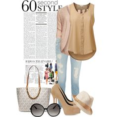 Today Look by mizzbuty on Polyvore featuring polyvore, fashion, style, J.TOMSON, ONLY, Paige Denim, Yves Saint Laurent, MICHAEL Michael Kors, Gap and Tom Ford