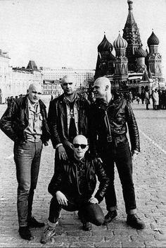 Cabezas rapsodas en la URSS