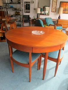 Ernst Hansen Dining Set -  Model no. 143 | | Melbourne Retro Furniture | Melbourne Vintage Furniture | Australian Mid 20th Century | Danish Modern | Vintage Industrial