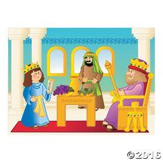 Queen Esther Sticker Scenes