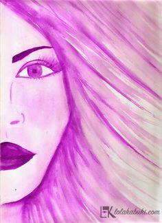 COLECCIÓN COLORES Lola Kabuki  #love #art #watercolor #paintings #illustration