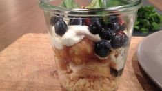 Un dessert revu par le chef Ian Perreault Radios, Marina Orsini, Le Chef, Oatmeal, Pudding, Breakfast, Sugar, Desserts, Recipes