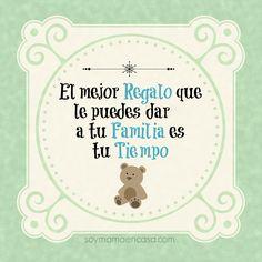 El mejor regalo a tu familia #familia #fraseslindas